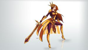 Leona - League of Legends by Dunjochka