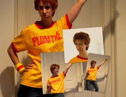 Scott Pilgrim Costume Preview by bishounenizer