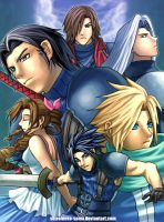 FF7 Crisis Core by ShiroiNeko-sama