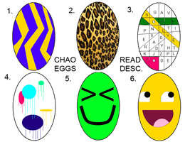 :OPEN:Chao eggs read desc by miss-glam-flipnote