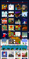 Emote advent calendar 2008 by Synfull