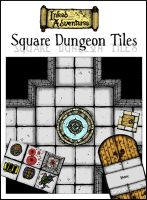 Cover for Square Dungeon Tiles by billiambabble