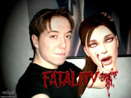 Lara Croft - FATALITY by Zellphie