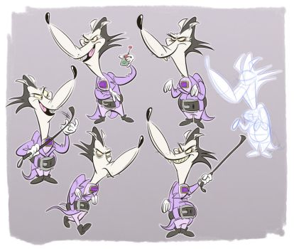 Sikes Model Sheet by Baron-Von-Jello