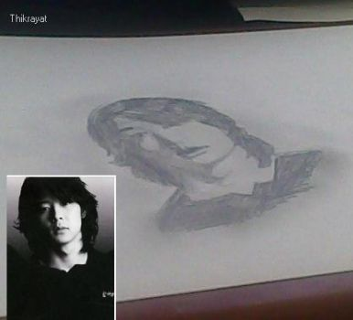 failed attempt to draw park yoochun by Thikrayat