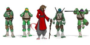 splinter and sons by Sketchydeez