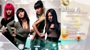 Miss A 4th Anniversary by Jover-Design