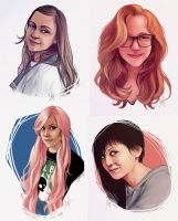 Portraits by LiaBatman