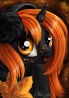 Pumpkin Patch, my OC by PaintedHoofprints