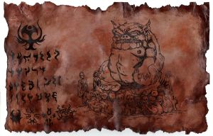 The Codex Tsathoggua by hawanja