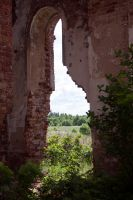 Ruins of a church stock #16 by croicroga