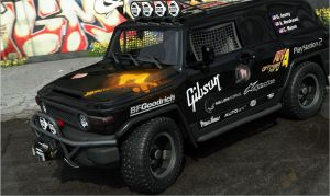 TOYOTA TRD BAJA Race truck by maView