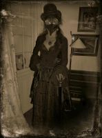 A Once Lost Photo Of Lady Plague Doctor by Estruda