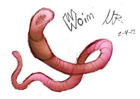 W is for Worm by Marioshi64
