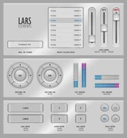 "GUIFX Elements Pack ""Lars"". by Pureav"