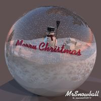 Mr Snowball by lasaucisse