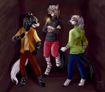[C] Stripes Alley by CaptainTigglesworth