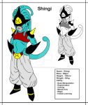 [DBMX] Shingi, the Majin Warrior by Cheetah-King