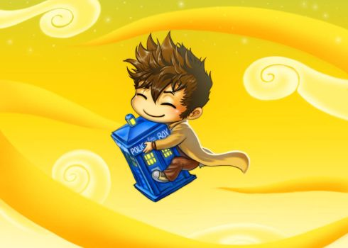 The Doctor and His Tardis by Zinfer