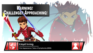 SSB4 Banner: Lloyd Irving by Pixiy