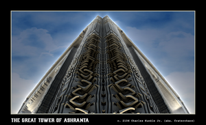 the great tower of ashranta by fraterchaos