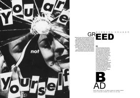Greed is bad - Kruger layout by stupidtoy