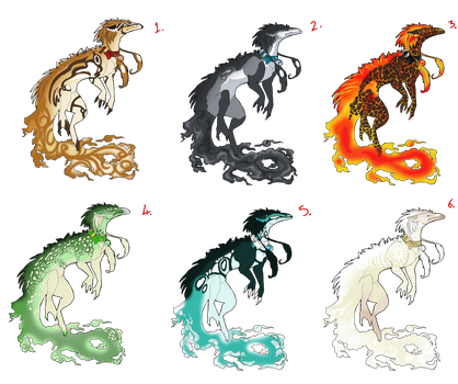 Elemental Dragon Premades by White-Sight