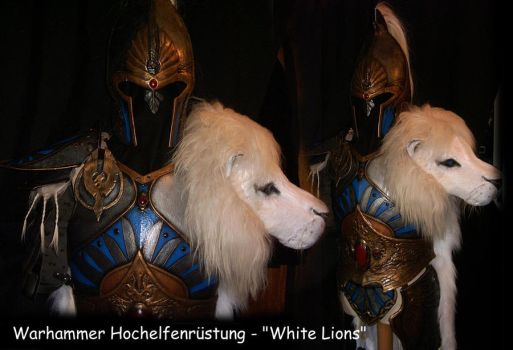 Warhammer 'White Lions' armour by BloodworxSander