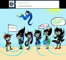 Ask John Egbert 17 by LeijonNepeta