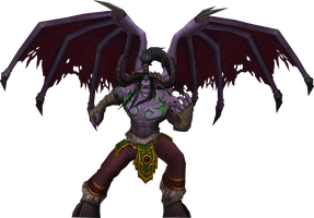 Illidan Stormrage by Daerone