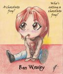 Chocolate frog by Froda-Stoney by Fire-and-Freckles