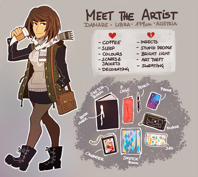 Meet The Artist by Damare