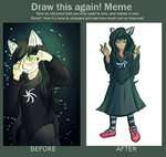 Jade Harley - Draw this Again Meme by DualTailed