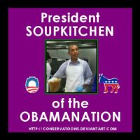 The Soup Kitchen President by RedTusker