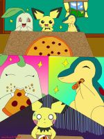 dinner with my friends by pichu1990