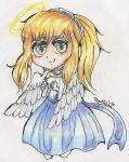 Art Trade Eri-chan8: Alanis chibi traditional by Bigotitos