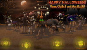 Happy Halloween from CCI545 and the M.U.P.! (2014) by CCI545