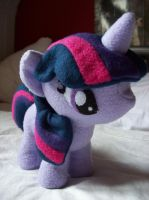 Twilight Sparkle Plush by Meline134