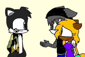 Even Jared likes these two being together by Sonicfan1345