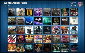 Game Aicon Pack 91 by HarryBana