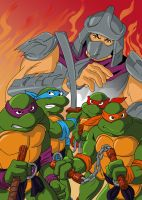 TMNT recolor by Isdailic