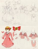 Lolita!Judai sketch design by slifertheskydragon