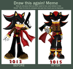 Draw this again (Shadow the Hedgehog) by nyctoshing