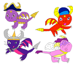 Skylanders with hats part 1 by imthecutest1238
