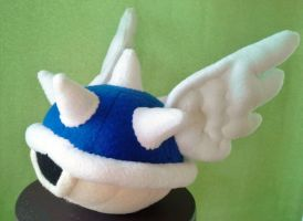 Super Mario - Blue Shell Plush - Commission by Sparkle-And-Sunshine