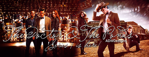 The Doctor and The Ponds banner by feel-inspired