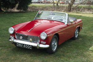 1965 MG Midget by FurLined