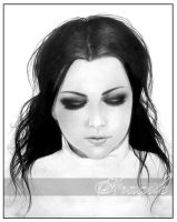 Amy Lee-don't open your eyes by Fragilew