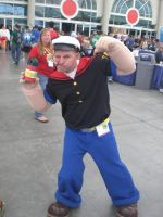 Popeye Cosplay by OPlover