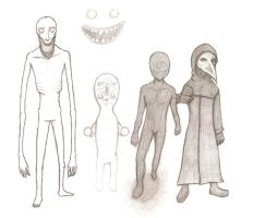 SCP Containment Breach Creatures (WIP) by Reyriders